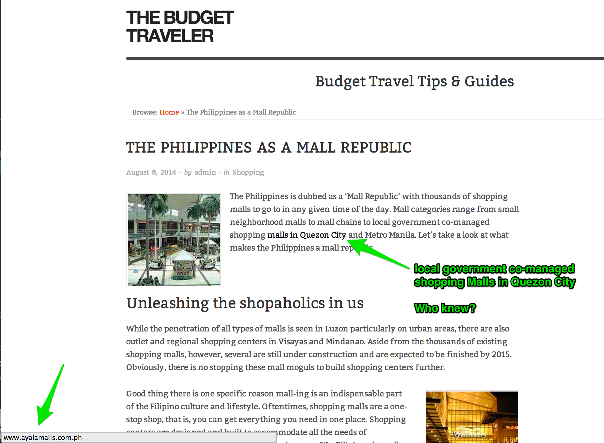 Travel Blogging The Wrong Way in the Philippines