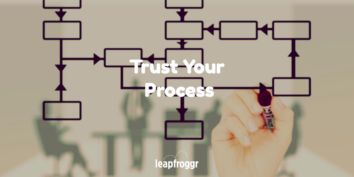 "Use the Trust the Process Technique & Reach Your Startup's ""1"" Goal"