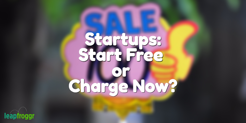 Startup Pricing - Start Free or Charge? - The EMR Guy
